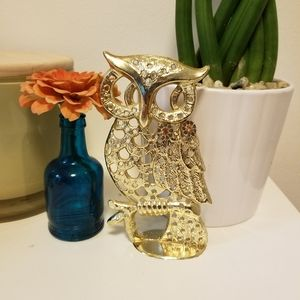 Vintage: Owl Earring Holder